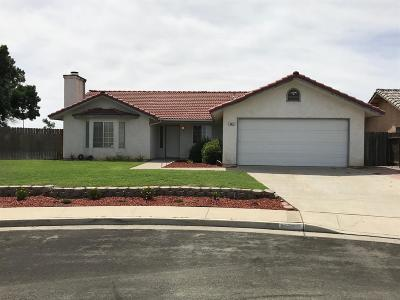 Hanford Single Family Home For Sale: 480 Acacia Street