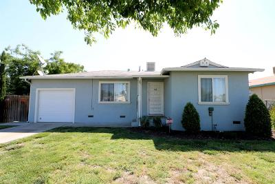 Tulare CA Single Family Home For Sale: $134,900