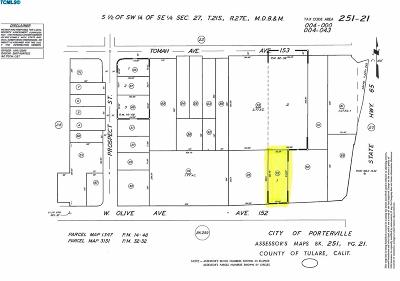 Porterville Residential Lots & Land For Sale: 1098 W Olive Avenue