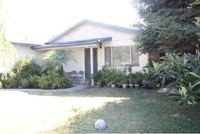 Tulare CA Single Family Home For Sale: $197,000
