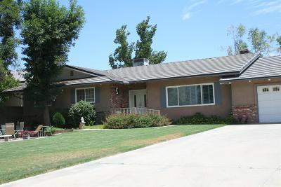 Springville Single Family Home For Sale: 33268 Tule Oak Drive