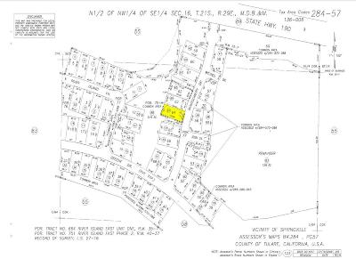 Tulare County Residential Lots & Land For Sale: .12 Acres On Montgomery Drive