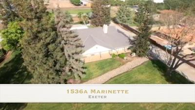 Exeter Single Family Home For Sale: 1536 W Marinette Avenue #A