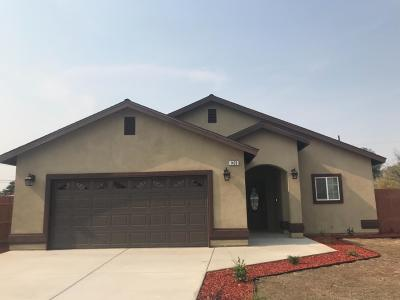 Tulare CA Single Family Home For Sale: $245,000