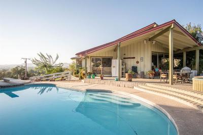 Springville Single Family Home For Sale: 33251 Tule Oak Drive