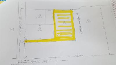 Tulare County Residential Lots & Land For Sale: 640 N. Prospect NW