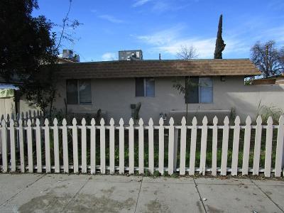 Visalia Multi Family Home For Sale: 615 S Garden Street