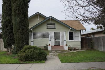 Tulare Single Family Home For Sale: 109 S F Street