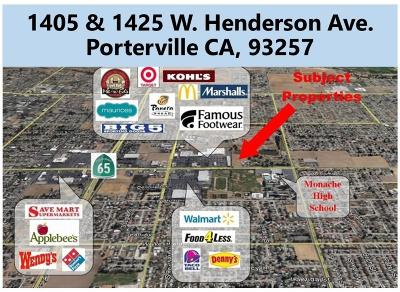 Tulare County Residential Lots & Land For Sale: 1405 W Henderson Avenue