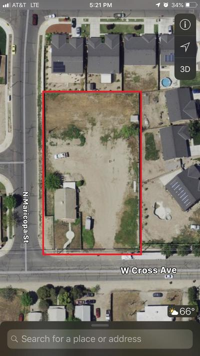 Tulare Residential Lots & Land For Sale: 1732 W Cross Avenue
