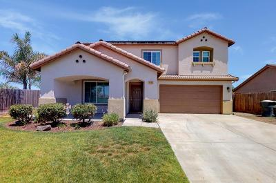 Hanford Single Family Home For Sale: 1450 W Ambassador Way
