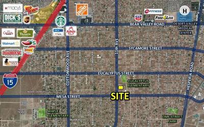 Hesperia Residential Lots & Land For Sale: 11th Avenue