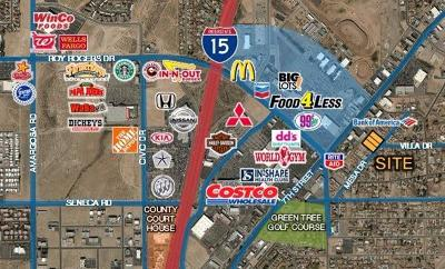 Victorville Residential Lots & Land For Sale: Mesa Drive