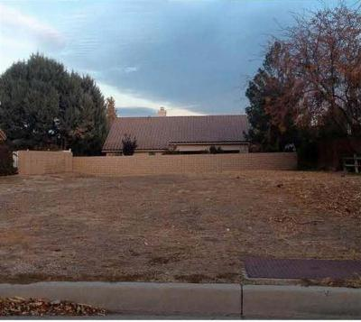Residential Lots & Land For Sale: 13025 Tamarisk Road