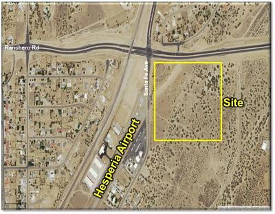 Hesperia Residential Lots & Land For Sale: Ranchero Rd