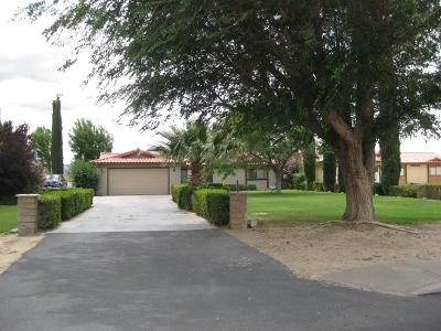 Yermo Single Family Home For Sale: 39665 Mountain View Road
