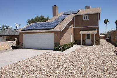 Barstow Single Family Home For Sale: 1321 Mecca Drive