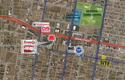 Hesperia Residential Lots & Land For Sale: Olive Street