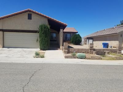 Barstow Single Family Home For Sale: 2115 Sierra Linda Drive