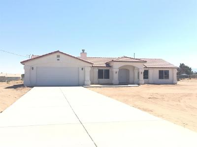 Hesperia CA Single Family Home Sold: $325,000