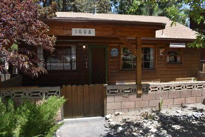 Wrightwood Single Family Home For Sale: 1608 Barbara Street