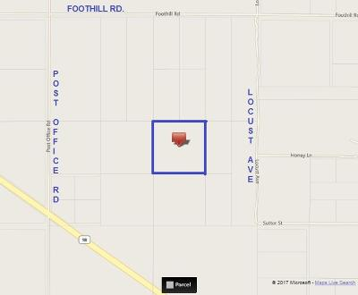 Lucerne Valley Residential Lots & Land For Sale: Foothill (Near)