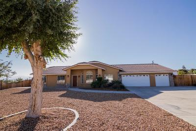 Apple Valley Single Family Home For Sale: 16230 Tao Road