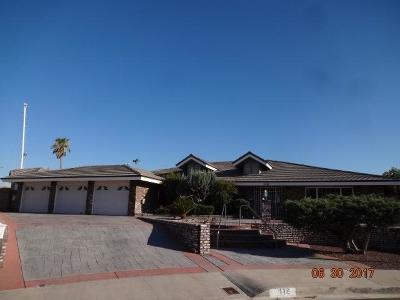 Barstow Single Family Home For Sale: 112 College Court