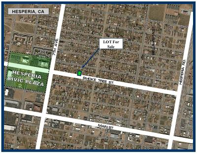 Hesperia Residential Lots & Land For Sale: Smoke Tree Street