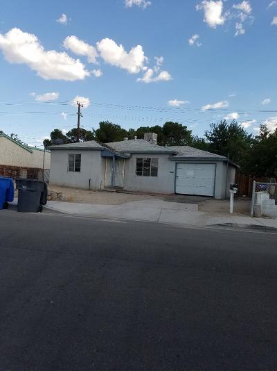 Barstow Single Family Home For Sale: 1430 Nancy Street