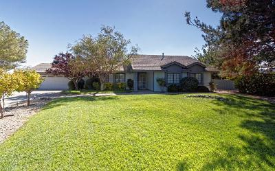 Apple Valley CA Single Family Home For Sale: $299,900