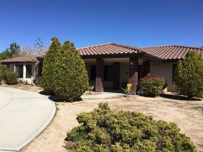 Apple Valley CA Single Family Home For Sale: $330,000