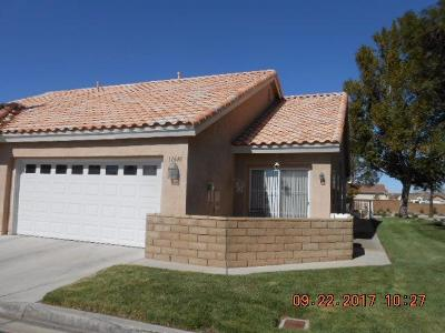 Apple Valley CA Single Family Home For Sale: $145,000