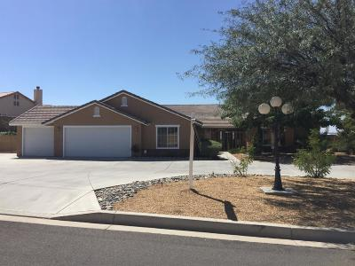 Apple Valley CA Single Family Home For Sale: $449,999