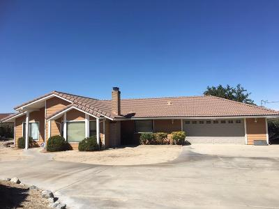 Phelan Single Family Home For Sale: 3828 Nielson Road