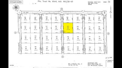 Pinon Hills Residential Lots & Land For Sale: Evergreen Road