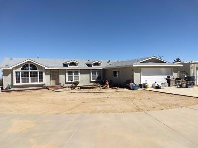 Pinon Hills Single Family Home For Sale: 9145 Silver Rock Road