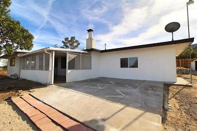 Pinon Hills Single Family Home For Sale: 681 Maria Road