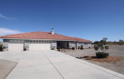 Pinon Hills Single Family Home For Sale: 11823 Azure View Road