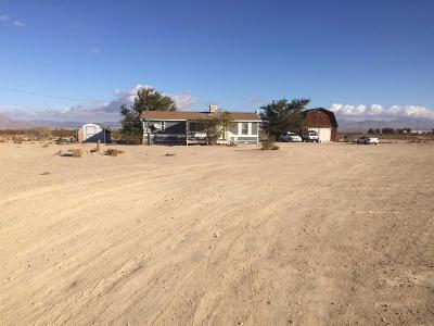 Lucerne Valley Single Family Home For Sale: 10200 Midway Avenue