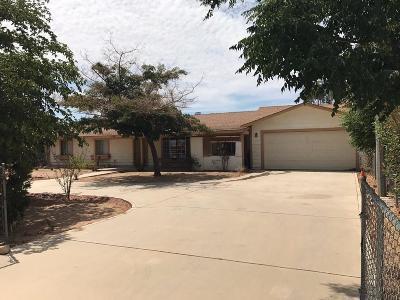 Hesperia Single Family Home For Sale: 15441 Wells Fargo Street