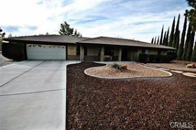 Apple Valley Single Family Home For Sale: 20235 Itasca Road