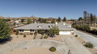 Apple Valley Single Family Home For Sale: 18540 Siskiyou Road