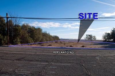 Adelanto Commercial Lots & Land For Sale: 17777 Adelanto Road