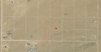 Lucerne Valley CA Residential Lots & Land For Sale: $11,900