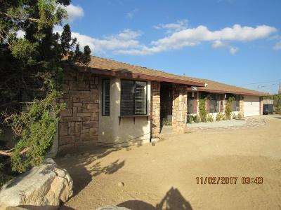 Pinon Hills Single Family Home For Sale: 1270 Pinon Road