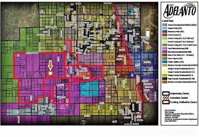Adelanto Commercial Lots & Land For Sale: Beaver (Edwards) Road