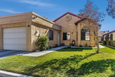 Apple Valley Single Family Home For Sale: 19037 Elm Drive