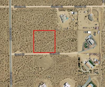 Apple Valley Residential Lots & Land For Sale: Garnet Road
