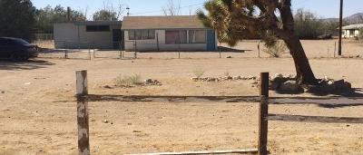 Lucerne Valley Single Family Home For Sale: 9950 Baker Road